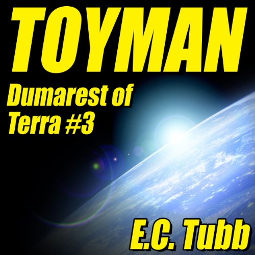 Toyman audiobook cover art