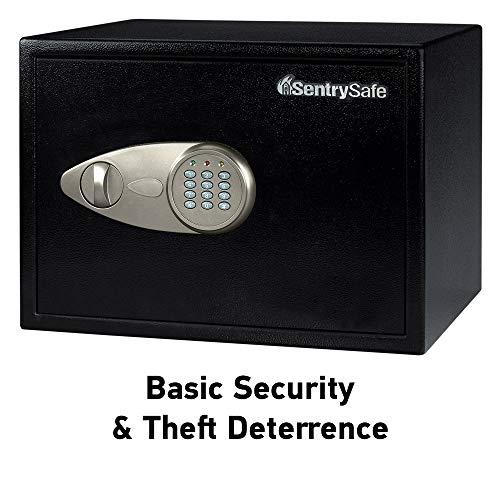 SentrySafe X125 Security Safe with Digital Keypad 1.2 Cubic Feet (Extra Large), Black