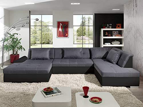 Bestmobilier - Utah - Canapé d'angle panoramique XXL...