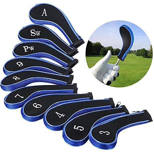 VVHOOY Lot de 10 Housses de Protection pour Club de Golf...