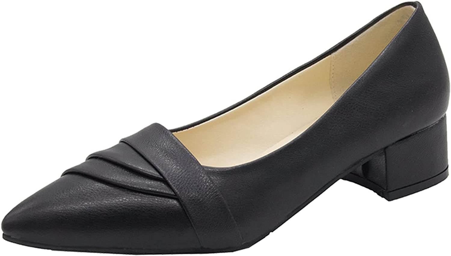 Women Pumps Elegant Pointed Simple Solid Al sold out. Color Court Popularity Light Shoes