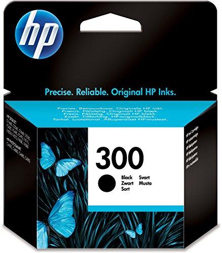 HP 300 Black Original Ink Cartridge (CC640EE)