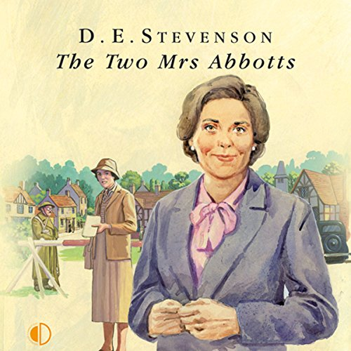 The Two Mrs Abbotts audiobook cover art