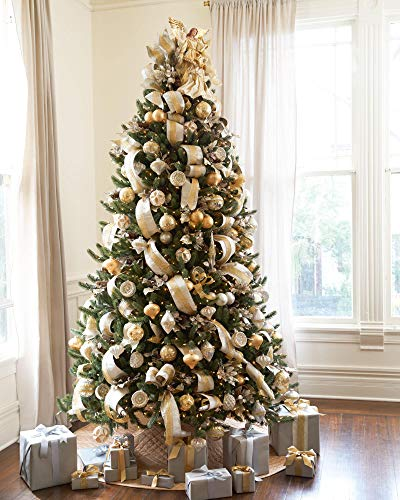 Clear Pre Lit Most Realistic 9 Feet High Artificial Christmas Spruce Tree  from Balsam Hill