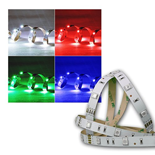 1m SMD LED FLEX-Strip RGB indoor 30 LEDs PCB