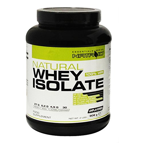 NATROID NATURAL WHEY ISOLATE 908 GR Neutro