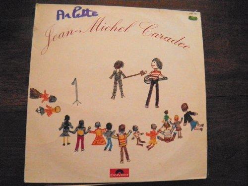 Jean-Michel Caradec chante pour les enfants - disque polydor 2393 139