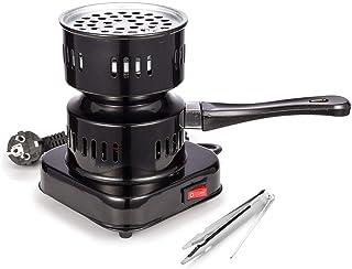 Topgoods Réchaud carbone pour shisha narguilé hookah Noir 13.5*14*17cm