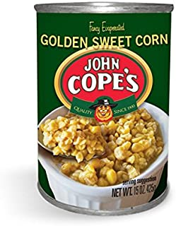 Copes Corn Golden 15-Ounce Cans (Pack of 4 Cans)