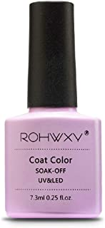 ROHWXY 7.3 ML Nail Gel Polish For Manicure 60 Colors UV LED Gel Laquer Soak Off Gel Varnish Painting Gel Nail Art Design Tools (RPG_014)