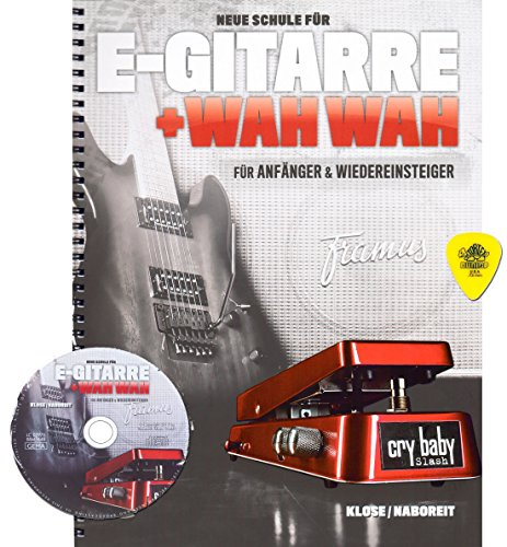 Elektrische gitaar en Wahwah voor beginners en herinneringen, met cd en origineel Dunlop-plectrum [noten/sheet music]