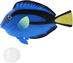 Pssopp Acuario Peces Artificiales Peces flotantes Falsos Peces Tropicales Divertidos Luminosos de Silicona Realistas en Movimiento Peces Ornamentos Decoraciones con Ventosa(#2)