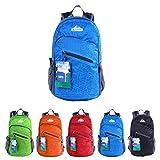 egogo multifunzione 25l zaino trekking pieghevole peso leggero daypack per sportivo outdoor campeggio alpinismo arrampicata viaggi s2212 (blu)