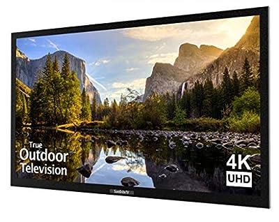SunBriteTV Outdoor TV 43-Inch Veranda 4K Ultra HD LED Television - SB-4374UHD-BL Black