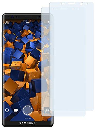 mumbi Schutzfolie kompatibel mit Samsung Galaxy Note 8 Folie klar, Bildschirmschutzfolie (2X)