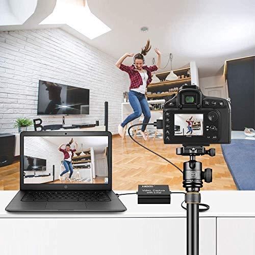 Foyar - Tarjeta de captura HDMI, USB 3.0, 1080P, 4K, 60fps, tarjeta de captura de vídeo, conversor para juegos en streaming o emisión en directo, para sistemas Windows y OS X