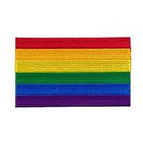 Regenbogen Flagge Patch / Aufnäher 40 x 25 cm