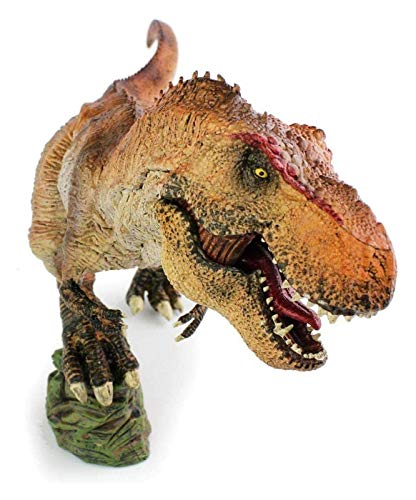 DWhui Outdoor Statues Artificial animal ornaments Simulated dinosaur toy solid plastic ornaments animal model king dragon children s birthday gift