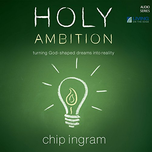 Holy Ambition audiobook cover art
