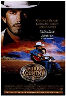 Pure Country Movie Poster (27 x 40 Inches - 69cm x 102cm) (1992) -(George Strait)(Isabel Glasser)(Lesley Ann Warren)(Rory Calhoun)(Kyle Chandler)(John Doe)