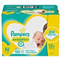 Baby Diapers Newborn/Size 0 (< 10 lb), 120 Count - Pampers Swaddlers, ONE MONTH SUPPLY (Packaging May Vary) from Procter & Gamble