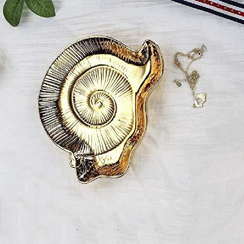 Bjimn Placa de Fruta de cerámica Almacenamiento Creativo Pl