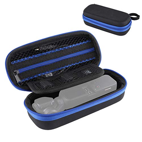 Alician - Bolsa de almacenamiento portátil de piel sintética para DJI OS...