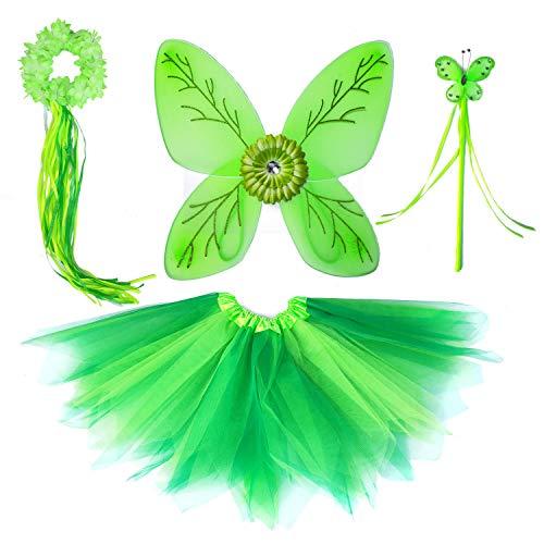 十大绿色仙子礼服的女孩2020年
