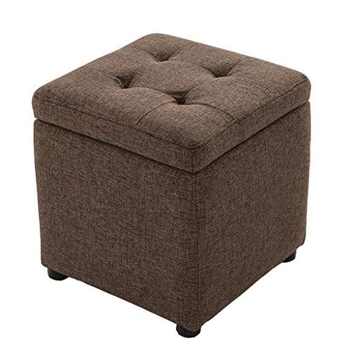 HSJ LF- Taburete de Almacenamiento Taburete de Cuero Cambie el Banco del Zapatero Banco del sofá del vestíbulo Taburete de Almacenamiento Cómodo (Size : L)