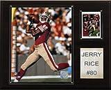 NFL Jerry Rice San Francisco 49ers Player Plakette -
