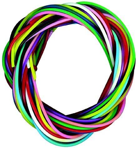 PW International - Confezione da 12 fili scoubidous colorati senza ftalati