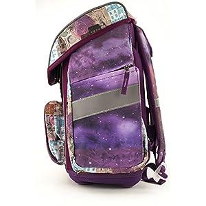 51ThGrZw1ZL. SS300  - Anekke Ergo Schulranzen/Ergonomic Backpack FIDLOCK Balerina Mochila tipo casual, 42 cm, 23 liters, Multicolor (Balerina)