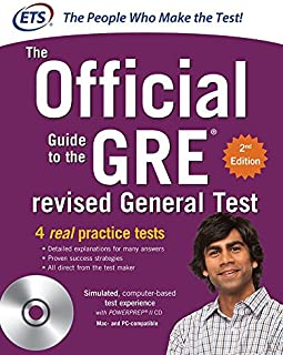 The Official Guide to the GRE Revised General Test, 2nd Edition (GRE: The Official Guide to the General Test)