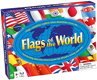 Flags Of The World Educational Game by Tactic Games UK