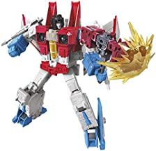 Transformers Toys Generations War for Cybertron: Earthrise Voyager Wfc-E9 Starscream Action Figure - Kids Ages 8 & Up, 7