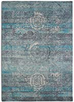 Rugsmith Mirage Area Rug, 5' x 7', Turquoise