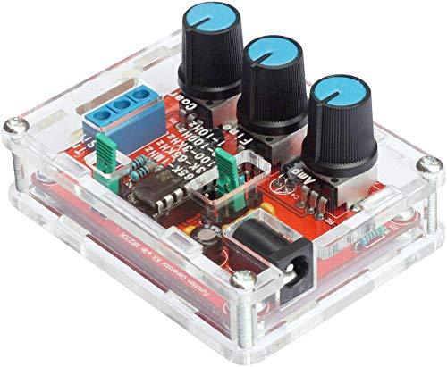 HYLH R2206 Alta precisioacute;n Funcioacute;n Sentilde;al Generador Kit DIY Seno/Triaacute;ngulo/Cuadrado Salida 1Hz-1MHz Ajustable Frecuencia Amplitud