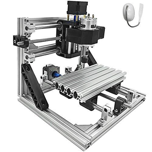 Bisujerro 1610 Máquina de Grabado CNC 3 Ejes Máquina de Fresado Grbl Control Máquina Grabadora 160X100X40mm CNC Router Machine (básico)