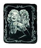 Marilyn Monroe 'Smile Now' Queen Size Blanket 79'x95'