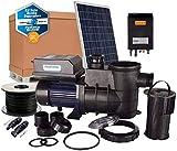 PlusEnergy Kit depuradora Piscina Solar 550W 3/4 CV con 3 Paneles solares 280W y componentes