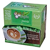 STEVIA Natural Edulcorante granulado Dulcilight stevia 600 SOBRES CON PRACTICO DISPENSADOR, Producto SABOR Y CALIDAD PREMIUM