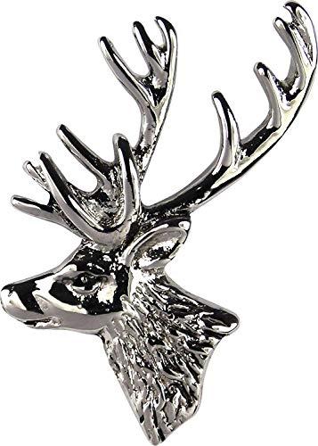 Jack Pyke Countryman - Abzeichen mit Anstecknadel - ideal für die Jagd oder als Geschenk - Hirsch