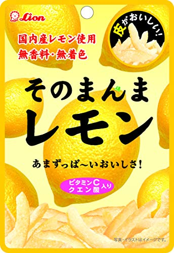 ライオン菓子 そのまんまレモン 25g ×6個