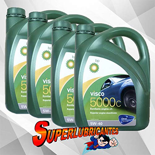 BP Visco 5000C 5W40 4x4L(16Litros)