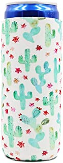 Cactus 12 oz Slim Can Cooler Sleeve Redbull Michelob Ultra