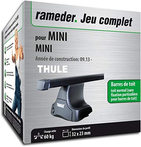 Rameder Pack Barres de Toit SquareBar pour Mini Mini (132397-12860-1-FR)