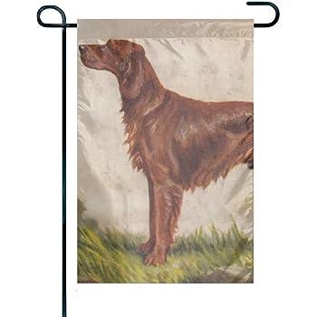 Best of Breed Garden Flag IRISH SETTER Puppy Pipsqueak Productions