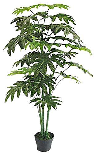 Decovego Philodendron Baumfreund Kunstpflanze Kunstbaum Künstliche Pflanze 160cm
