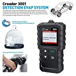 """LAUNCH Creader 3001 OBD2 Scanner Automotive Car Diagnostic Check Engine Light O2 Sensor Systems OBD Code Readers Scan… 15 : LAUNCH Creader 3001 obd2 scanner read and clear fault codes for engine system. In addition, Creader 3001 built in fault codes definition lookup library. LAUNCH Creader 3001 obd2 scanner works on most 1996 and newer US-based vehicles that are OBDII compliant (OBDII protocols: KWP2000, ISO9141, J1850 VPW, J1850 PWM and CAN). """"PLUG AND PLAY"""" scan tool, equipped with a 2. 5 feet long cable and made of a very thick flexible insulator, very easy to use for beginners. : You can use this obd2 scanner to check the status of emission-related monitors misfire system and fuel system, make sure the monitor was set before taking it to smog, help you pass the Smog Check easily, save your money for paying fine tickets. : Turns off the MIL , if you finished repairing the faulty components, then clear the fault codes and turn on the vehicle ignition, it is surprise that you will find the check engine light is off. And more, LAUNCH Creader 3001 obd2 scanner can read the car's information such as VIN number."""