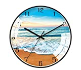 JUNDY Reloj de Pared, Reloj de Cocina,Ideal para la Casa Oficina Restaurante,Decorativo para el hogar Reloj de Pared nórdico salón Moderno 3 14 Pulgadas